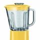Stoln� mix�r Artisan so sklenenou n�dobou s objemom 1,5 L a malou plastovou n�dobou s objemom 0,75 L- je vyroben� z materi�lu DURACLEAR � extr�mne odoln�ho akostn�ho materi�lu (bez obsahu BPA). Je odoln� proti po�kriabaniu, �kvrn�m, rozbitiu a vysok�m teplot�m a zais�uje tak dlhodob� vyu�itie. Funkcia pomal�ho �tartu - za��na pomaly a potom r�chlo zv�i r�chlos� a zais�uje tak �ist� mixov�n�. Mixovanie r�znych pr�chut� a konzistenci� je umenie, ktor� m��e dohna� v�niv�ho kuch�ra a� k ext�ze� anebo k z�falstvu. Pr�li� ve�mi zmixovan� potraviny a zni�� se kompoz�cia. M�lo zmixovan� a ztrat� se harm�nia. Pre v�niv�ho kuch�ra je mix�r predov�etk�m umeleck�m n�strojom. �ahko �istite�n� ovl�dacia plocha je integrovan� do hladk�ho a zaoblen�ho dizajnu V�konn� motor s inteligentn�m ovl�dan�m r�chlosti (intelli-speed) zais�uje optim�lnu r�chlos� pri ka�dom nastaven�. Odoln� spojovac� otvor vystu�en� oce�ou. Pevn� a trvanliv�, zais�uj�c� tich� prev�dzku.