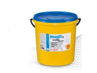 IMAGIN na dezinfekciu Práškový čistiaci prostriedok na chemotermickú dezinfekciu a odmáčanie pohárov, príborov, kuchynských pomôcok a plastov.
